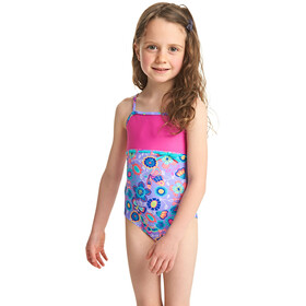 Zoggs Wild Classicback Swimsuit Girls Lilac/Multi